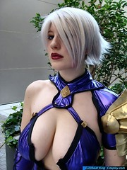 Ivy Valentine (BelleChere) Tags: costume cosplay ivy valentine isabella soulcalibur bellechere isabellavalentine ivyvalentine