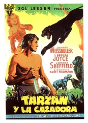 Tarzan y la cazadora (jovisala47) Tags: cinema cine posters johnny joyce movies brenda tarzan afiche cartel carátula cazadora película weissmuller