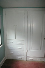 Built-ins, northwest bedroom