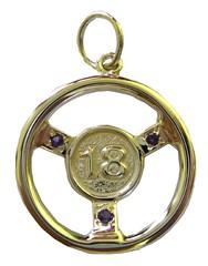 Pendant - Sterling Silver 18th Birthday Steering Wheel (K4renD) Tags: birthday 18th steeringwheel pendant