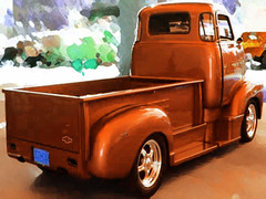 coe 1948chevy coe-rear-04 (Pig (OINKS)) Tags: wallpaper ford chevrolet truck international dodge coe cabover photoshoppedimages