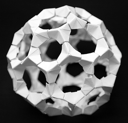 Make the Raibow PHiZZ Origami Buckyball! : 6 Steps - Instructables | 482x500