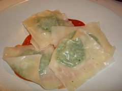 Spinach & White Bean Ravioli