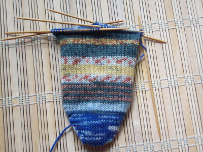 travelling rib sock