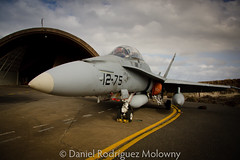 F18 Hornet (bigdani) Tags: sky españa grancanaria yellow clouds plane grey gris perspective objects objetos vehicles amarillo cielo nubes chase iphoto perspectiva hornet f18 combat angular combate avion caza vehiculos gando efs1785f456isusm camera:make=canon exif:make=canon exif:iso_speed=100 camera:model=canoneos40d exif:focal_length=17mm exif:model=canoneos40d geo:countrys=españa exif:lens=efs1785mmf456isusm exif:aperture=ƒ80 geo:state=grancanaria geo:city=gando