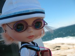 Sailor Bianca at Peggy's Cove