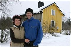Maryse-und-Marc in Perlström, Schweden