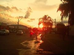 Puddle of Sun (osvaldoeaf) Tags: sunset orange sun sol puddle soleil dusk sole otw prdodol diamondclassphotographer flickrdiamond overtheexcellence theperfectphotographer