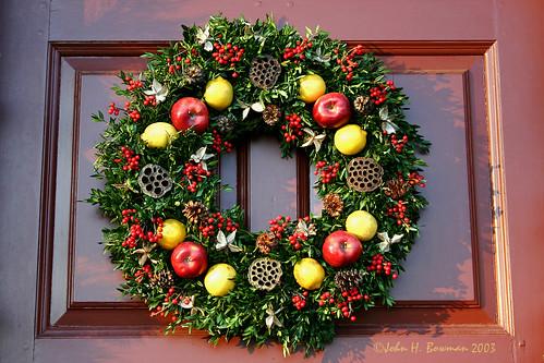 Christmas wreath - Flickriver: Photoset 'Williamsburg Christmas' By John H Bowman