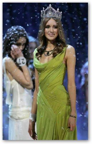 Ksenia Sukhinova Crowned Miss Russia