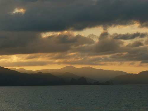 Week End Ilot Sapin Touho #12 : coucher de soleil #8