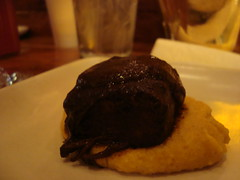 Beef Short Rib with Chocolate Mole and Kabocha Squash Polenta