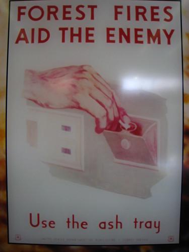 WWII anti-forest fire propaganda