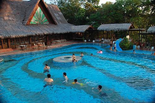 swimming pool, langkawi kampong tok senik