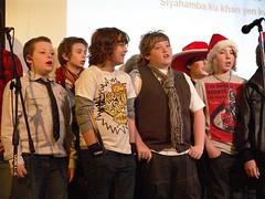 DSC01942 (Sunderlandpix) Tags: christmas school st for woods support december catholic williams mr aidans sierra f sing miss 2008 fundraising leone payne 17th josephs chri blama sunderlandpix