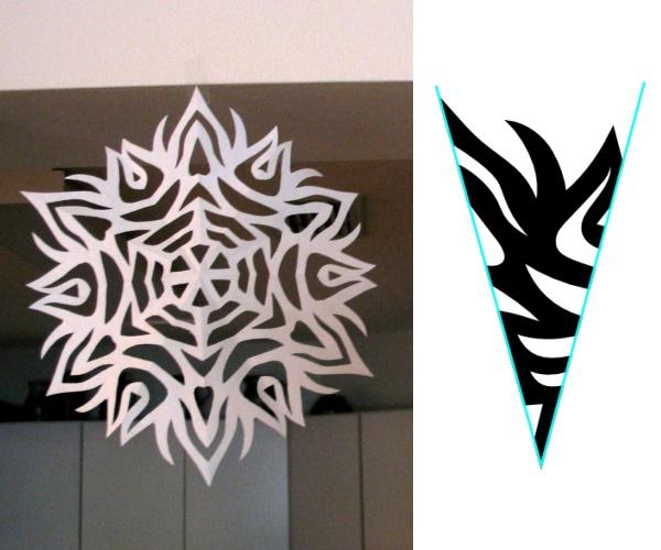 Snowflake Pattern, #3
