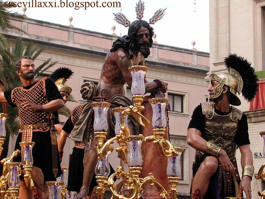 Misterio de la Sagrada Columna y Azotes. Jueves Santo 2003
