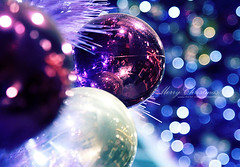 Merry Christmas from Beijing. (ShanLuPhoto) Tags: christmas blue ball purple bokeh beijing dreamy  loolooimage