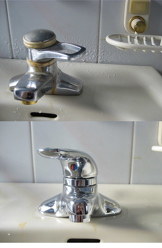 Water tap replacement