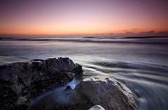 I am a rock.... I am an island (Through Bri`s Lens) Tags: sun up sunrise canon dawn worthing before wetfeet eow getmeoutahere shorehmbysea