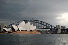 Storm approaching (paolo_mac) Tags: ocean storm water harbour sydney operahouse harbourbridge stormclouds sydneyoperahouse sydneyharbourbridge
