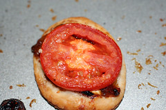 Finished Tomato Goat Cheese Tart