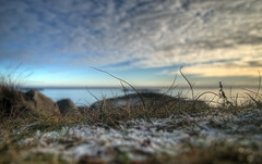 Focus (wili_hybrid) Tags: sea beach water grass clouds landscape photo skåne blurry focus photos sweden picture ground pic nordic sverige scandinavia hdr scandinavian ystad