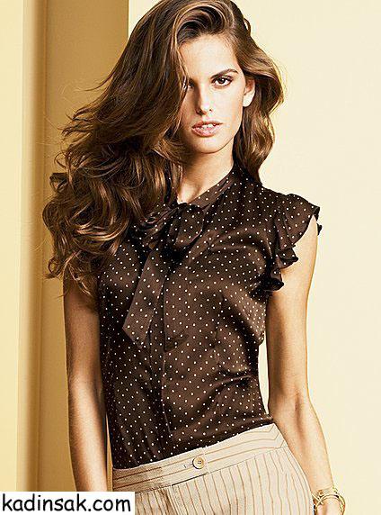 bayan gömlek modelleri