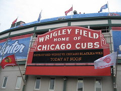 Detroit Red Wings vs Chicago Blackhawks today at Noon (mikepix) Tags: chicago hockey wrigleyfield 2009 winterclassic