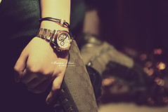 ..{  ..     .... ( Marron Glac) Tags: canon boot eos soft hand bokeh watch  gucci jeans marron rolex glac 400d marronglac marronglac
