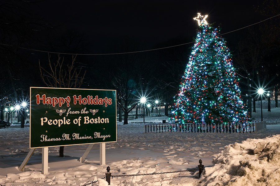 Happy Holidays from Boston!