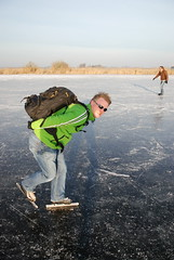 ijspret flickrmeeting 2009 the start..... (Wiro Oudejans (Wiro.Karen)) Tags: winter ice amsterdam iceskating skating 2009 durgerdam noordholland landsmeer schaatsen koud edam holysloot ijspret wynand natuurijs