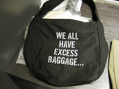 We All Have Excess Baggage Bag by Kenneth Cole
