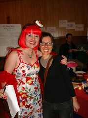 Me and Mary, the Pie Party organizer
