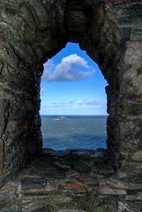 Inside The Monument At Stepper Point Nr Padstow (_ justintheframe_) Tags: coast cornwall padstow tonemapped stepperpoint justintheframe