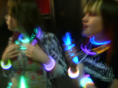 Ravers (robyn183) Tags: people blur colour concert glow bright gig glowsticks colourfull