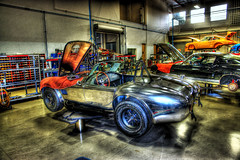 Canepa Design - Chrome Cobra (Rear View) (www.bazpics.com) Tags: auto california trip usa ford car race racecar america truc