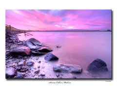 Sunrise Colour Madness (SteveMG) Tags: longexposure sky sunrise landscape yorkshire smg tarn picturesque yorkshiredales 10mm embsay
