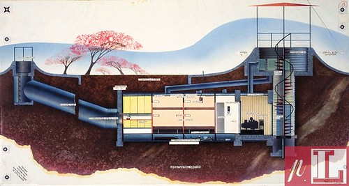 Laszlo bomb shelter for US Airforce