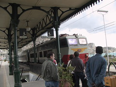 At Taormina railway station