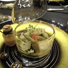 旬の根野菜 優しくミトネしモロッコ産アルガンオイルの香るクスクスと共に