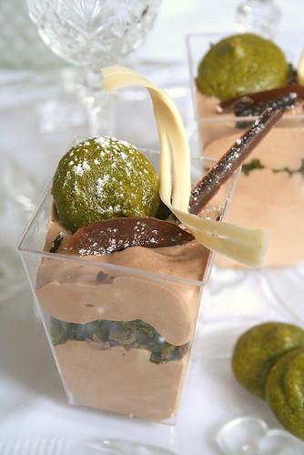 Chocolat, Pistaches, Martha & Moi ou le Dessert de la Dernière Chance selon le principe de Lavoisier -