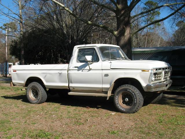 ford truck 4x4 1976 f250