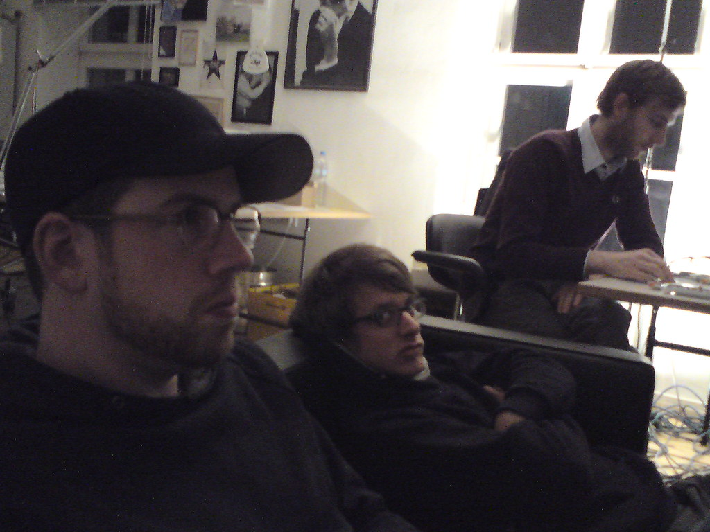 spex office with flo, daniel, waldar