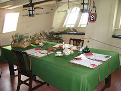 Endeavor captain's dining room (Stoneflower Pottery) Tags: sydney australia endeavor