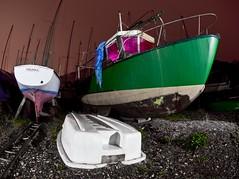 IMG_9868 raw edit.jpg (night photographer) Tags: light 2 abandoned wales night canon painting boats photography coast dock long exposure mark ships north fisheye ii mk2 5d ghosts shipyard mkii scarymanwhorunsoutoftheseatowardsus originalnocturneinnit