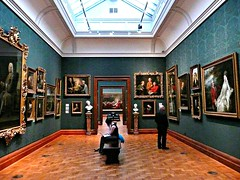 image of the National Portrait gallery in london