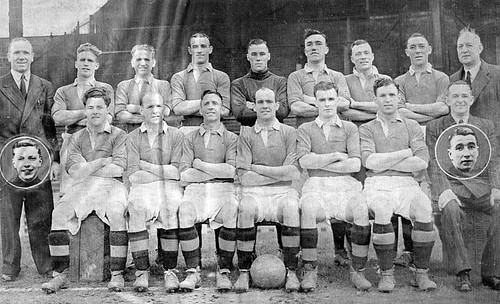 Manchester United 1946-47 team photograph