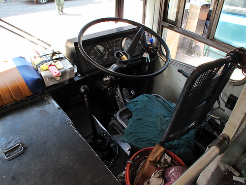 IMG_8496 Driver Seat of Kampar Bus Station , 金宝巴士车站司机座位