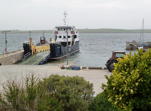 Ferry at Rousay